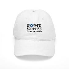 I Love My Scottish Girlfriend Baseball Cap