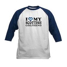 I Love My Scottish Girlfriend Tee