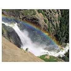 California, Yosemite National Park, Panoramic view Poster