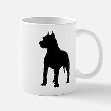 Pit Bull Terrier Silhouette Mug