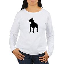 Pit Bull Terrier Silho T-Shirt