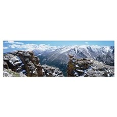 Colorado, Rocky Mountain National Park, Panoramic  Poster