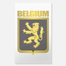 """Belgian Gold"" Decal"