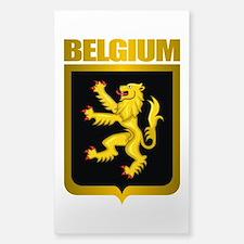 """Belgian Gold"" Sticker (Rectangle)"