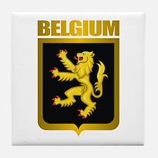"""Belgian Gold"" Tile Coaster"