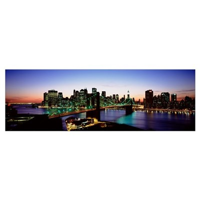 New York State, New York City, High angle view of Canvas Art