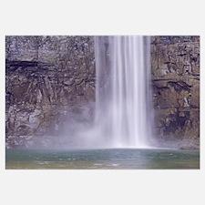 New York, Finger Lakes, Waterfalls at Taughannock