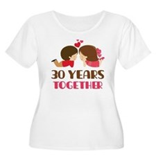 30 Years Together Anniversary T-Shirt