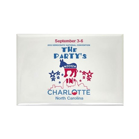 Democratic Convention Rectangle Magnet (100 pack)