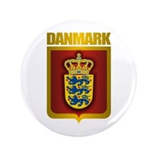 """""""Danish Gold"""" 3.5"""" Button"""