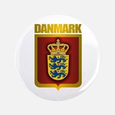 """Danish Gold"" 3.5"" Button"