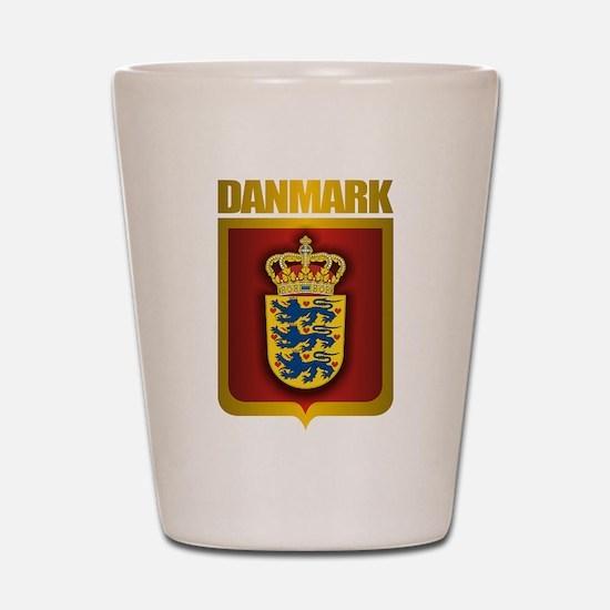 """""""Danish Gold"""" Shot Glass"""