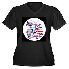 Republican Convention Women's Plus Size V-Neck Dar