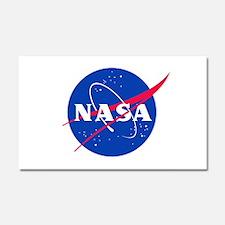NASA Car Magnet 20 X 12