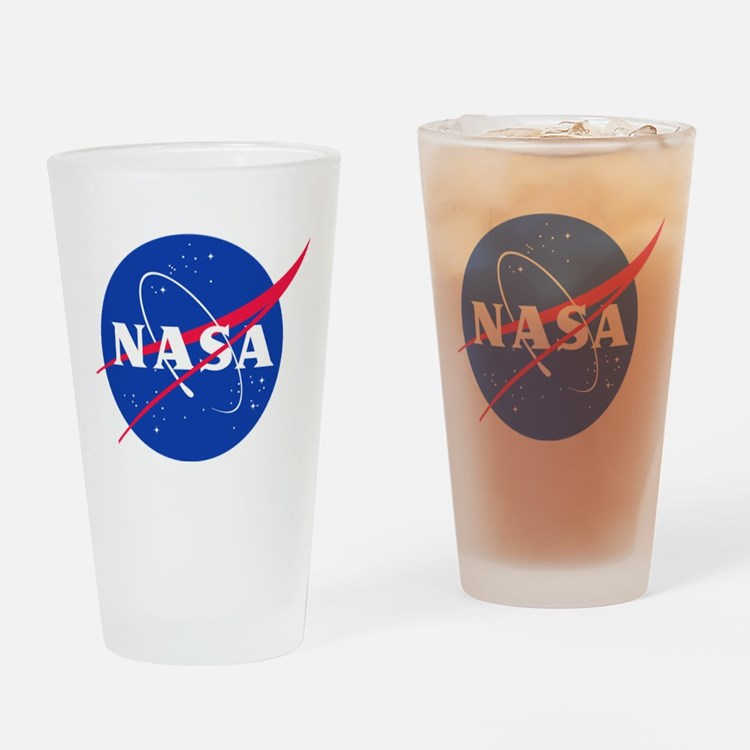NASA Drinking Glass