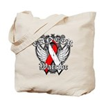 Oral Cancer Warrior Tote Bag