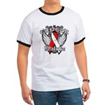 Oral Cancer Warrior Ringer T