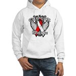 Oral Cancer Warrior Hooded Sweatshirt
