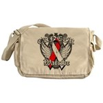 Oral Cancer Warrior Messenger Bag