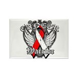 Oral Cancer Warrior Rectangle Magnet