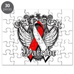 Oral Cancer Warrior Puzzle