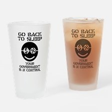 STOP SOPA Drinking Glass