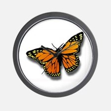 Butterfly Illusion Wall Clock