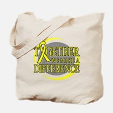 Sarcoma Cancer Support Tote Bag