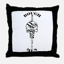 Rough Men Throw Pillow