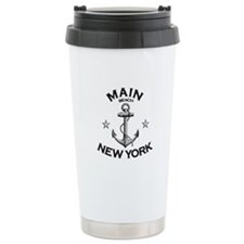 Main Beach, New York Travel Mug