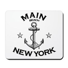 Main Beach, New York Mousepad