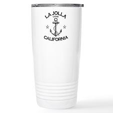 La Jolla Cove, California Travel Mug