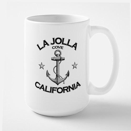 La Jolla Cove, California Large Mug