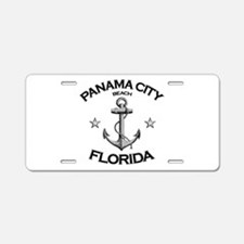 Panama City Beach, Florida Aluminum License Plate