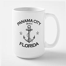 Panama City Beach, Florida Large Mug