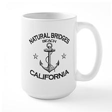 Natural Bridges Beach, California Mug