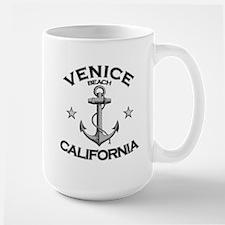 Venice Beach, California Large Mug