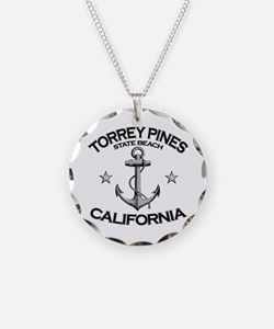 Torrey Pines State Beach, California Necklace
