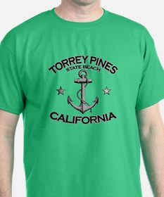 Torrey Pines State Beach, California T-Shirt