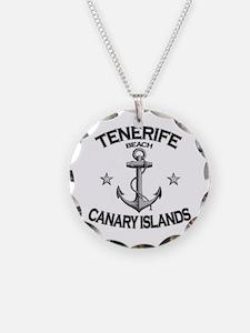 Tenerife Beach, Canary Islands Necklace