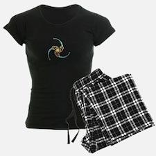 Triple Julia Set Crop-Circle Pajamas