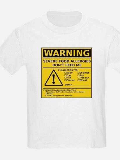 T-Shirt (Multiple Allergies)