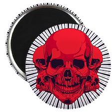 Conjoined Skulls Magnet