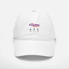 Personalized Grandma 3 kids Baseball Baseball Cap