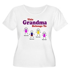 This Grandma Belongs 4 kids T-Shirt