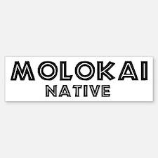 Molokai Native Bumper Bumper Bumper Sticker