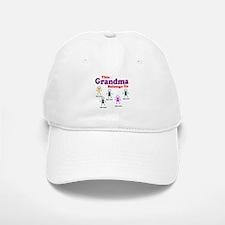 Personalized Grandma 5 kids Baseball Baseball Cap