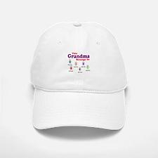 Personalized Grandma 6 kids Baseball Baseball Cap