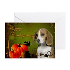 Beagle Thanksgiving Card