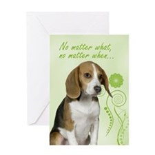 Beagle Love/Support Card